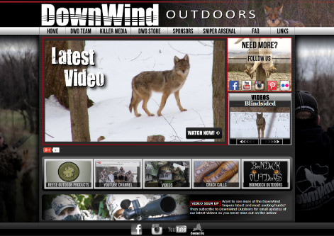 DownWind Outdoors Homepage